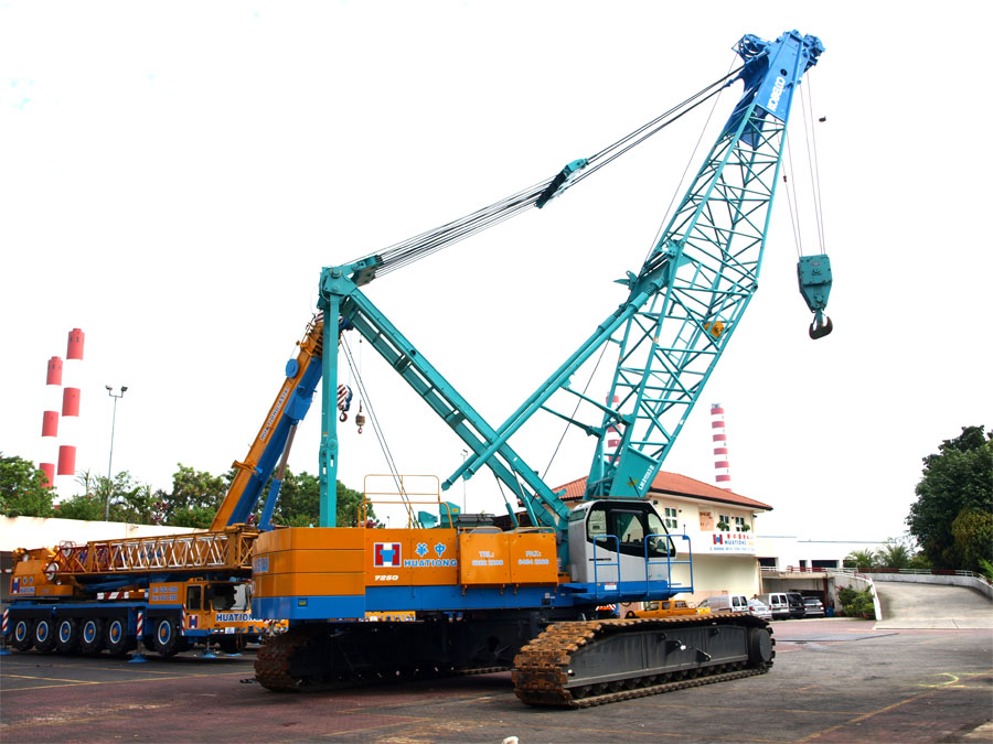 HUATIONG HOLDINGS PTE LTD » Cranes
